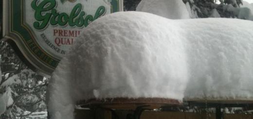 Sneeuwvlokken als luiers in Flaine