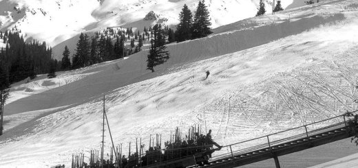 skigebied golm in de sixties