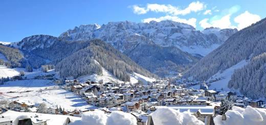 kerstmis in Val gardena