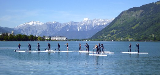 Sup in zell am see