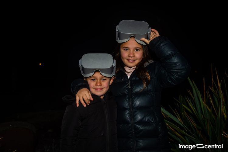 Night vision - Matariki Celebration in Alexandra 2021 - Photo by Clare Toia-Bailey
