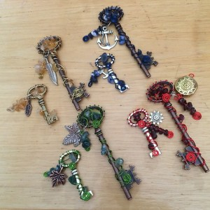 Elemental Keys as envisioned by Aspiring Artista Aimee