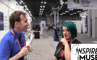 Live from BookCon 2017: Inspire the Muse Interviews Aubrie Nixon, Inside Look at Secret of Souls