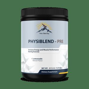PhysiBlend Pre-Workout (Lemonade)