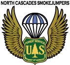 North Cascades Smoke Jumper Logo