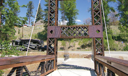 spring creek bridge winthrop wa
