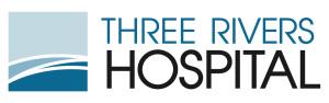 Trhee River's Hospital logo