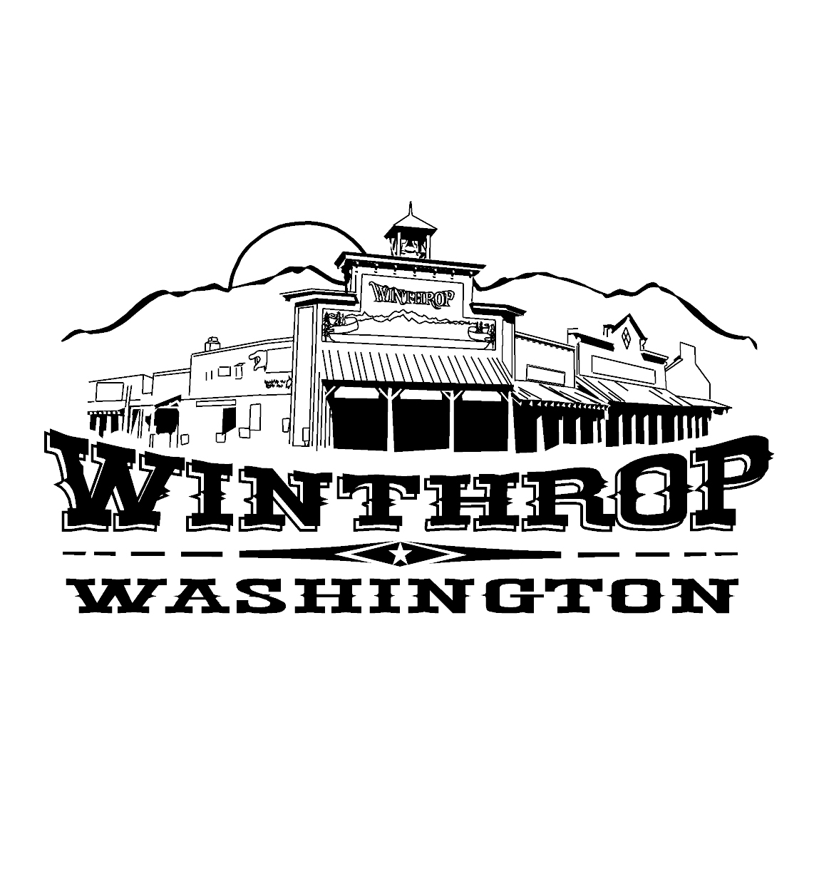 Winthrop Washington logo