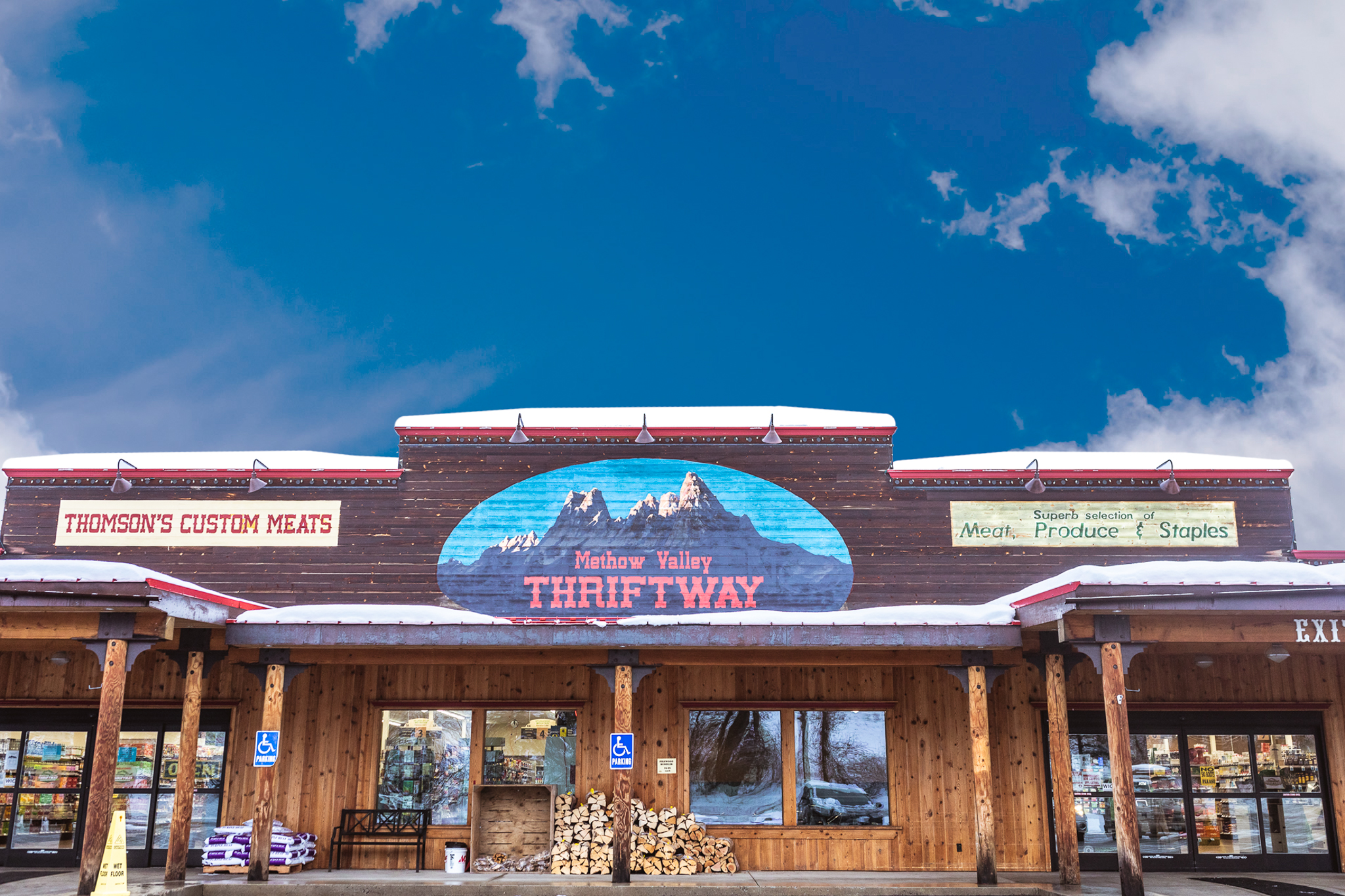 Methow Valley Thriftway Winthrop Washington