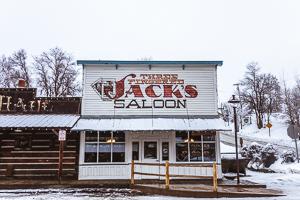 Dining in Winthrop Washington Three Fingered Jack's Saloon