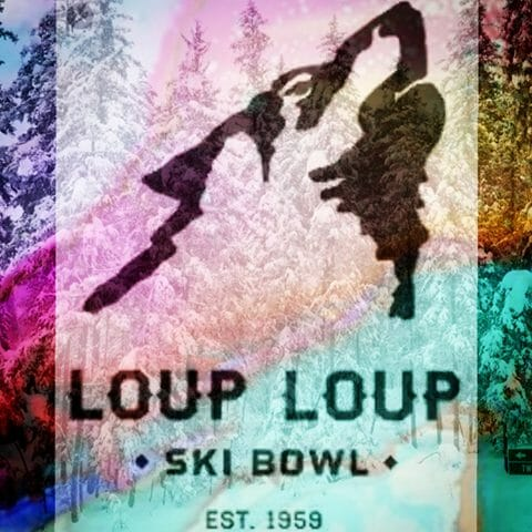 Ski resort logo
