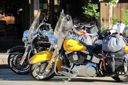 motorcycle tour winthrop washington camping