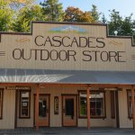 Cascades outdoor store storefront