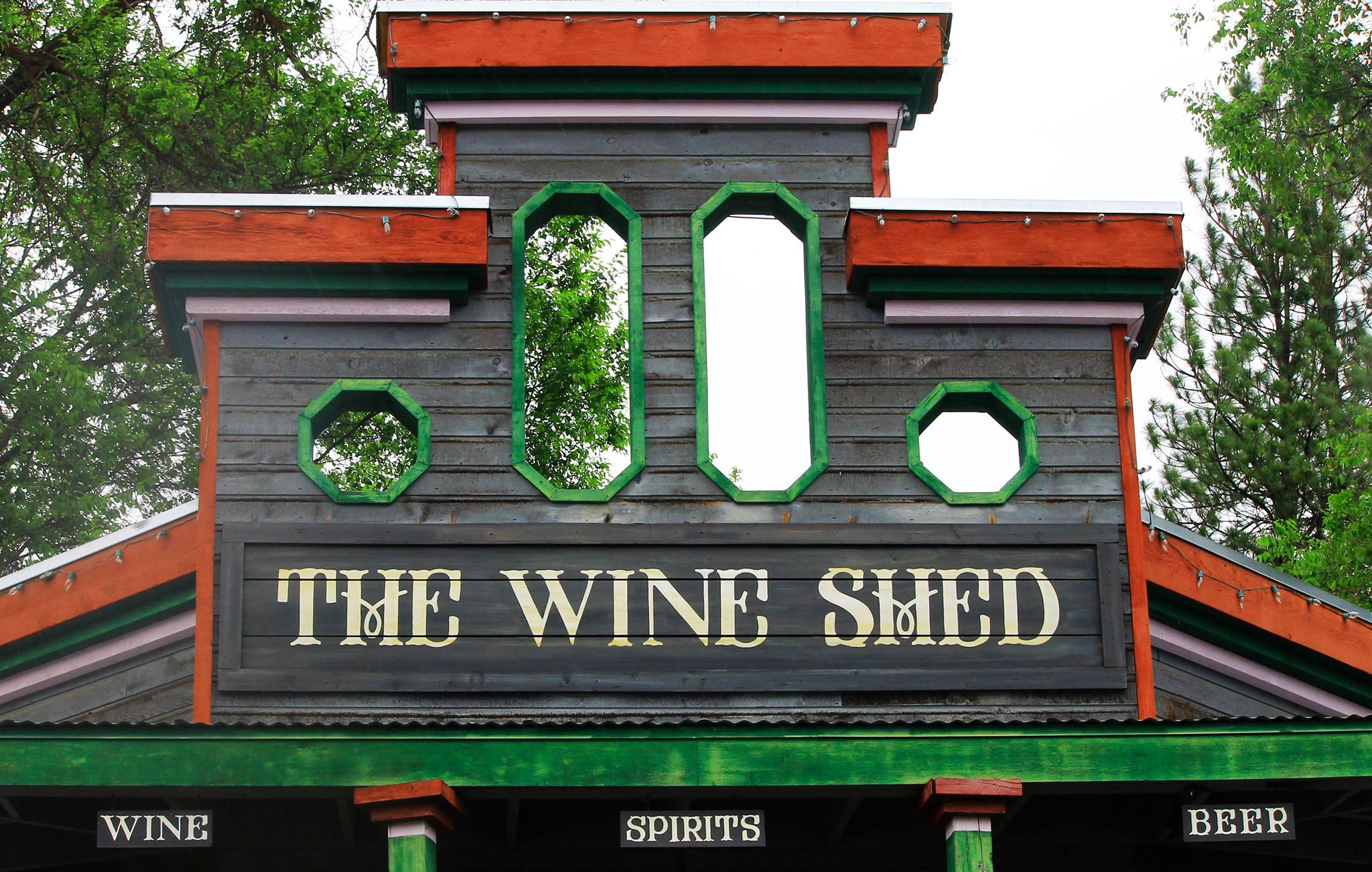 The Wine Shed Storefront winthrop washington