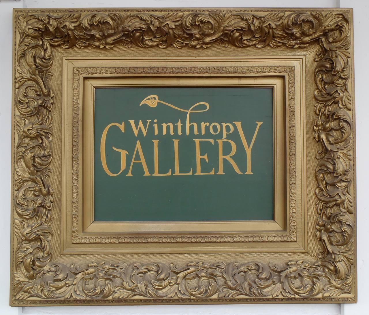 Winthrop Gallery logo