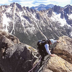 Weekend warrior climbers and mountaineers have gathered in Winthrop Washington for decades for its clean rock, classic routes and scenic summits.