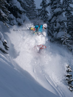 downhill ski snowboard loup loup winthrop washington