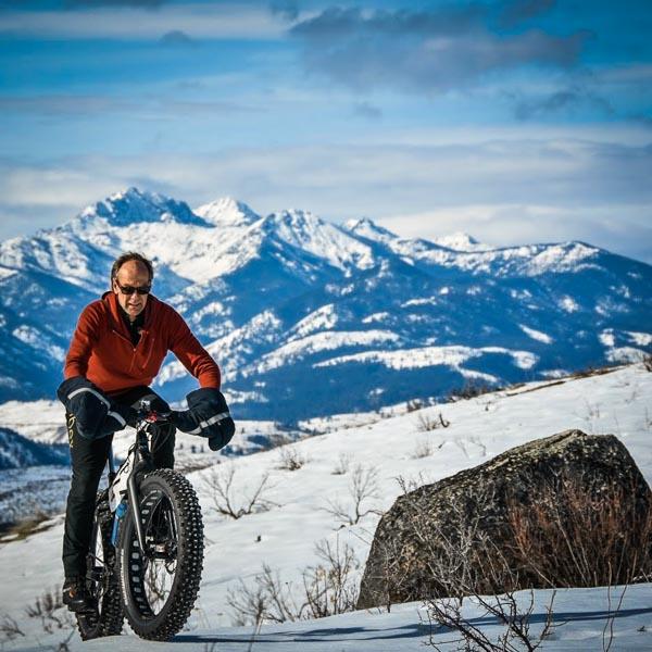 go fat tire biking in Winthrop Washington