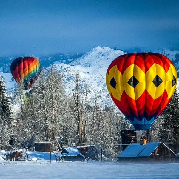 Winthrop Washington hot air balloons