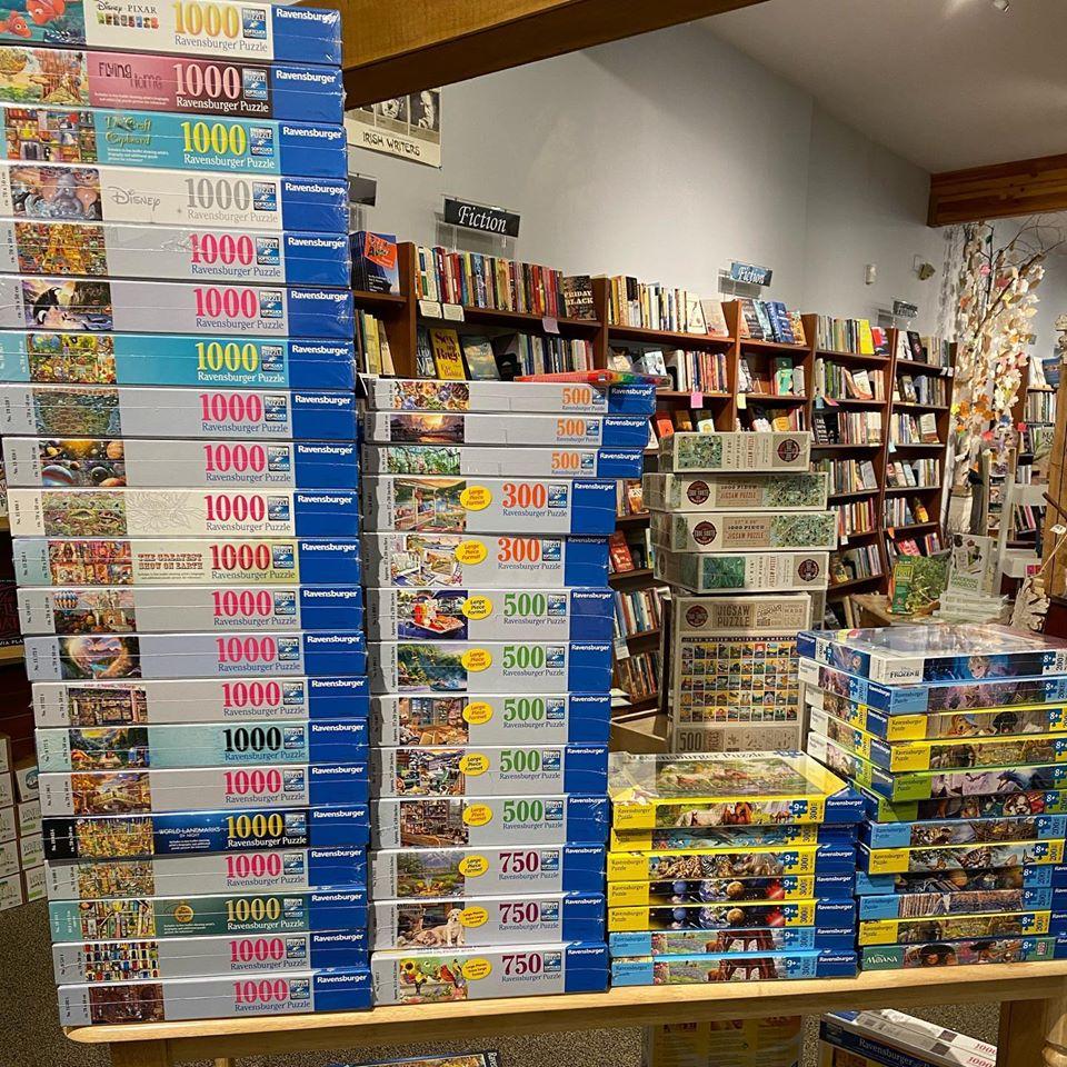 Trails End Bookstore Winthrop Washington Window Shopping