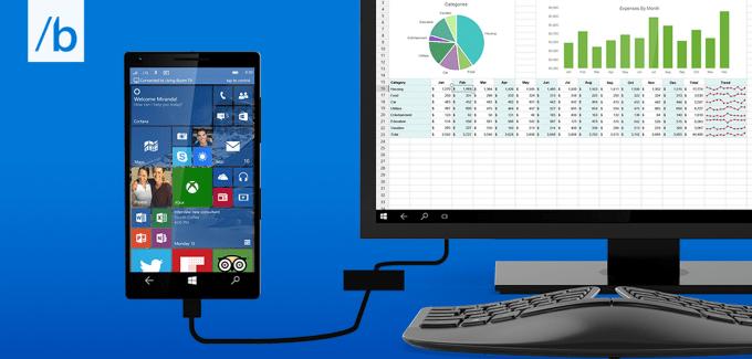 Microsoft Continuum Windows 10