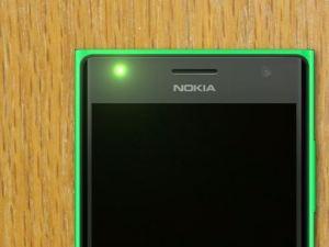 Lumia 735 Status LED