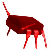 BIOS Käfer rot