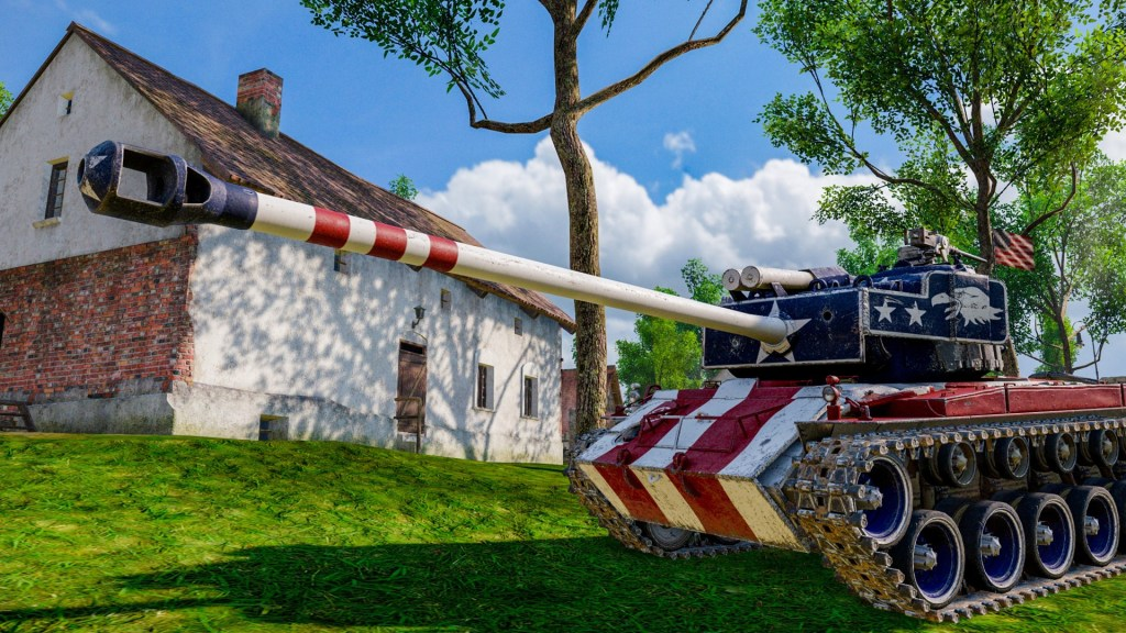 T26E4 Freedom, a Tier VIII American Medium Tank