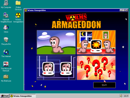 Worms Armageddon - Retro-Support
