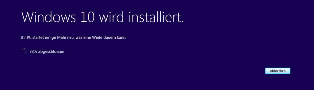 Windows 10 Upgrade Assistant - Installation