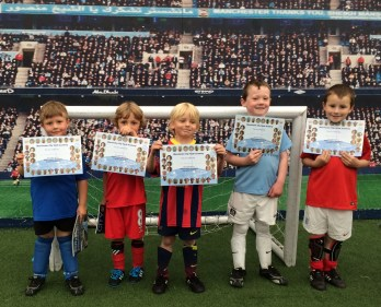 Man City Kids Sun 25may2014