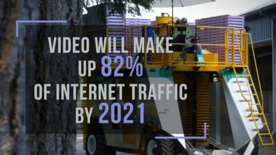 82% of Internet Traffic will be video by 2021