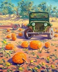 """Parked in the Pumpkin Patch"" by Daphne Wynne Nixon"