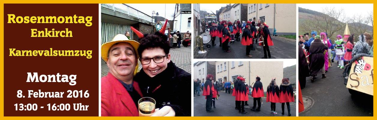 2016 – Karnevalsumzug in Enkirch