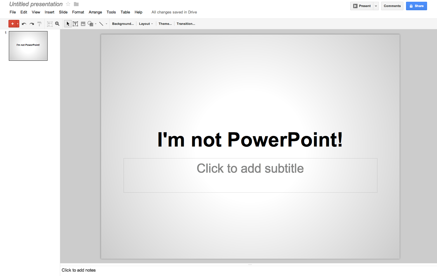 use google presentation to create collaborate and present online
