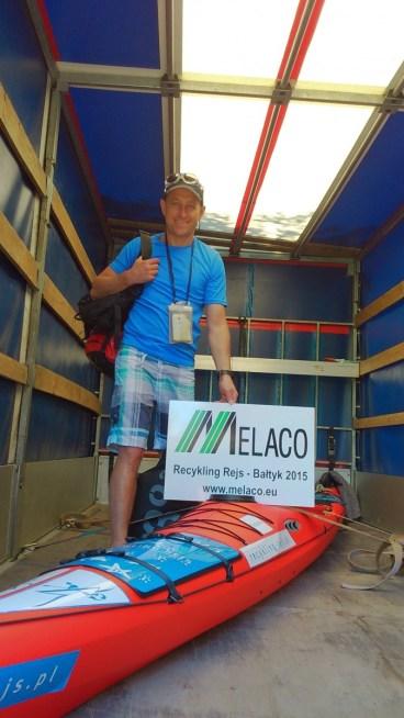 Dziękuję Melaco za transport!