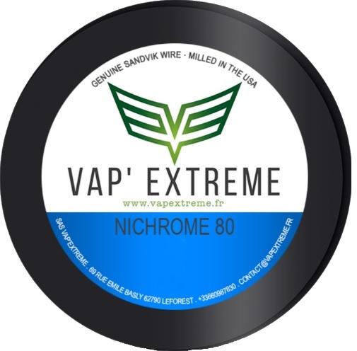Fils Vap' Extreme Ribbon Ni 80
