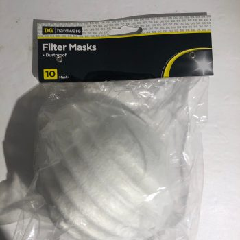 DG Hardware Filter Masks Dustproof 10 pcs
