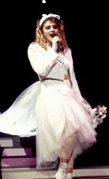 ¡Feliz cumpleaños a la Reina del Pop, Madonna! Chicago-1985