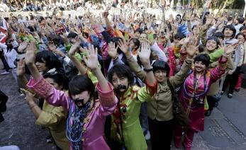 Los Beatles baten Record