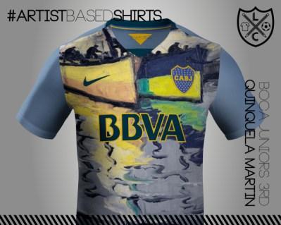 Camisetas de fútbol basadas en pinturas famosas quinquelaaa