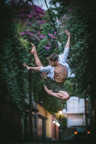 Este fotógrafo captó lo mejor de la CDMX con bailarines de ballet 3-1