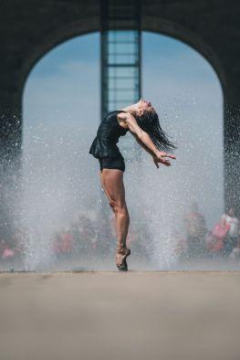Este fotógrafo captó lo mejor de la CDMX con bailarines de ballet 8-1