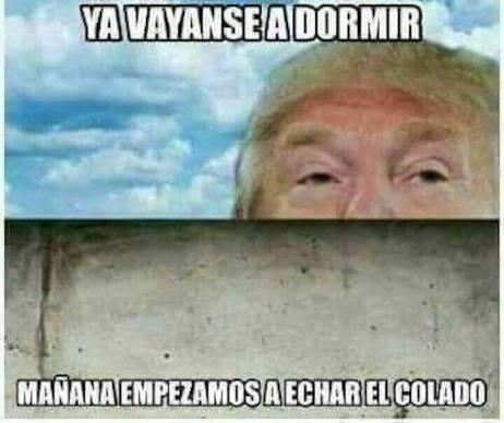 Los memes sobre la construcción del muro tras la victoria de Trump memes5-2