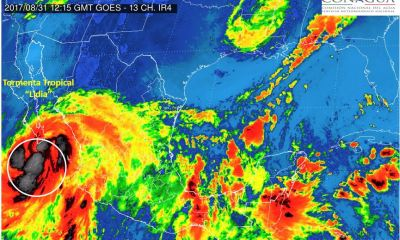 Baja California Sur, Cabo San Lucas, tormenta tropical, Lidia, tormenta tropical Lidia,