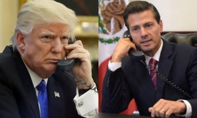 Donald Trump llamará a Peña Nieto para hablar sobre el sismo