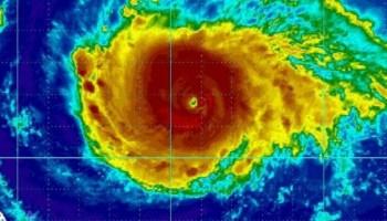 La NASA capta la destrucción del huracán Irma