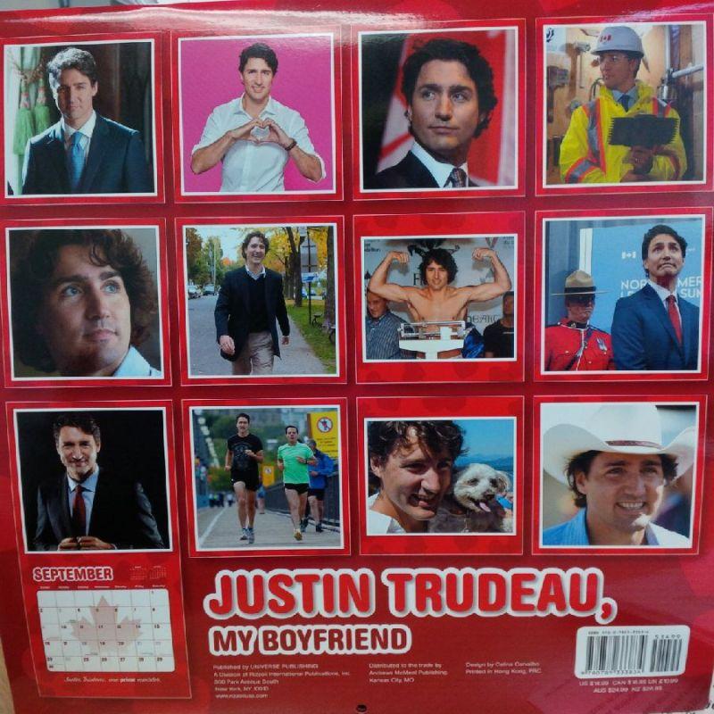 ¡Apártalo! Lanzan calendario 2018 de Justin Trudeau DPqBkkAVoAEt3zM
