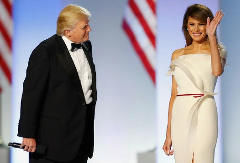 Melania Trump decora la Casa Blanca