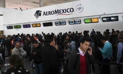 Profeco logra conciliación entre Aeroméxico y pasajeros, Profeco, Paro de Pilotos de Aeroméxico